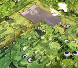 SLIMY MONSTERS GIFT WRAP FOR JILLISON ROBERTS