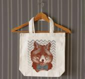 Dapper Fox tote bag