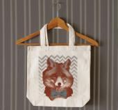 Dapper Fox tote bag